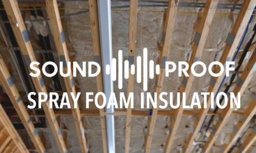 Spray Foam Sound Proofing